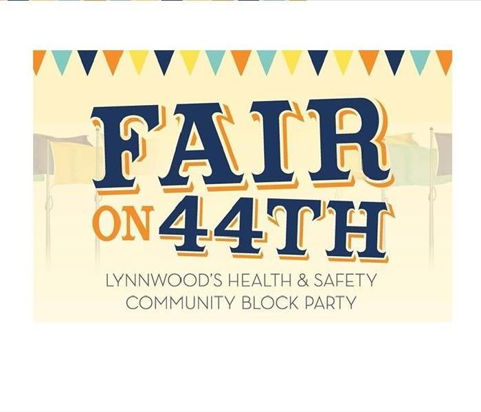 Community Save the Date! Lynnwood's Health and Safety Community Block Party!